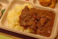 ペパーミント風味のチキンカレー - ゆっくり火を通したチキンと最後に香るミントが特徴の、eetee食堂の定番カレー