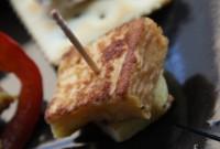 鱈のブランダード トルコ風茄子のディップ - Cod brandade with Turkish eggplant dip