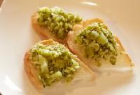 くたくたブロッコリーのブルスケッタ - Bruschetta of the worn-out broccoli